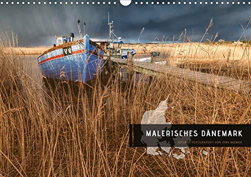 Malerisches Dänemark (Wandkalender 2020 DIN A3 quer)