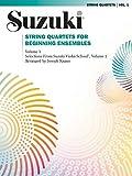 String Quartets for Beginning Ensembles, Volume 1: Selections from Suzuki Violin School, Volume 1