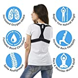 Ortho+ Adjustable Posture Corrector – Shoulder Strap for Men and Women – Neoprene