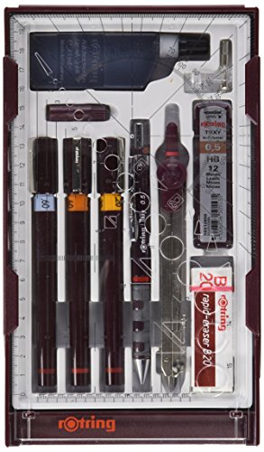 Rotring Isograph Master Set (0.2mm, 0.4mm, 0.6mm)