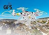 Jamara Drone con Bussola, Colore Bianco, 422025