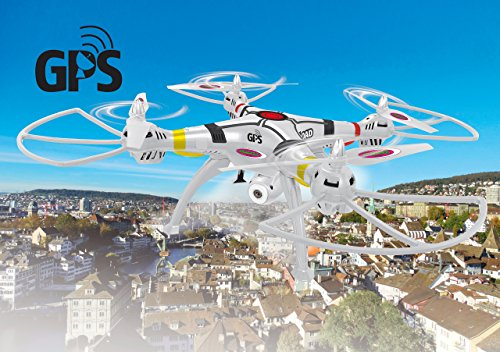 Jamara Drohne Payload GPS Altitude HD WiFi FPV