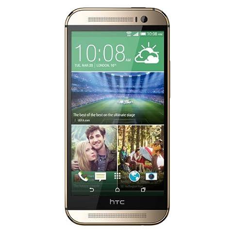 HTC One M8 UK SIM-Free Smartphone - Amber Gold