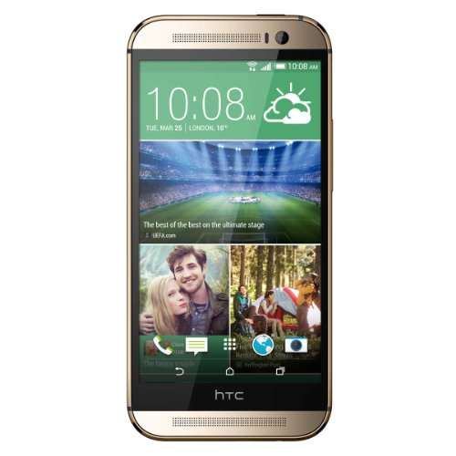 HTC One M8 UK SIM-Free Smartphone - Amber Gold