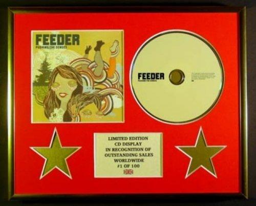 FEEDER/CD Display/Limitata Edizione/Certificato di autenticità/PUSHING THE SENSES