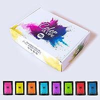 Pack 8 bolsas de polvo Holi de 100 gramos - Edición especial