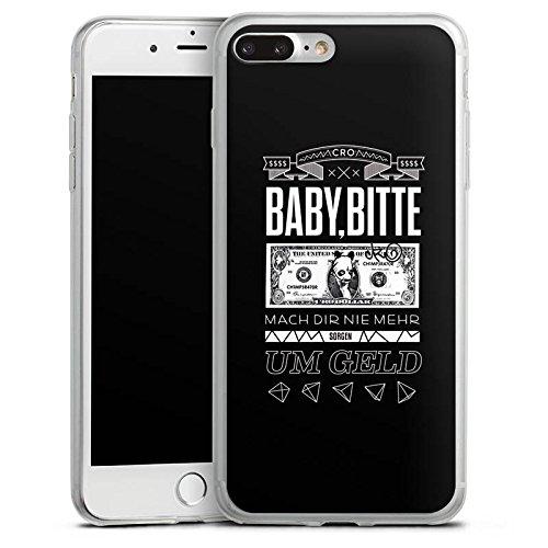 Apple iPhone 8 Slim Case Silikon Hülle Schutzhülle Cro Merchandise Fanartikel Baby bitte Silikon Slim Case transparent