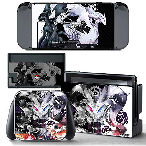 Price comparison product image Ci-Yu-Online VINYL SKIN [NS] Pokemon Reshiram Zekrom 1 STICKER DECAL COVER for Nintendo Switch Console and Joy-Con Controllers