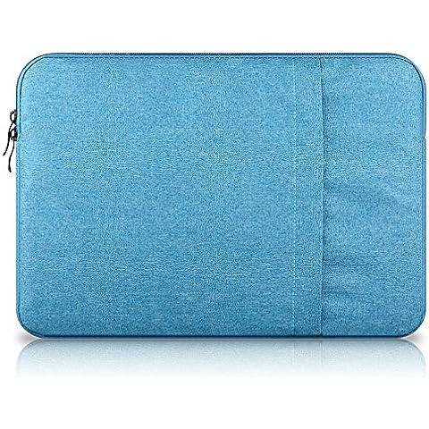 Elebaby 13-13.3 pollici impermeabile custodia di borsa da trasporto Laptop