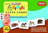 Krazy Common Animals - Hindi Flash Cards