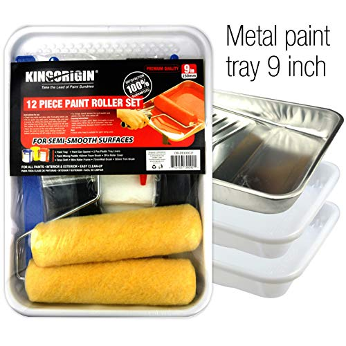 kingorigin 30002 F Paint Applikator Kit 12-teilig (Tray Paint 12)
