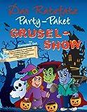 Ratzfatz Party-Paket Grusel-Show: 7 Einladungskarten, Deko, Basteln