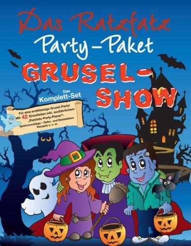 Grusel-Show: 7 Einladungskarten, Deko, Basteln (Spiele-idee Für Die Halloween-party)