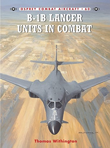 B-1B Lancer Units in Combat (Combat Aircraft) por Thomas Withington