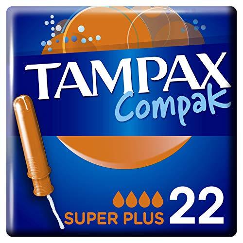 Tampax Compak Super Plus Tampones Con Aplicador