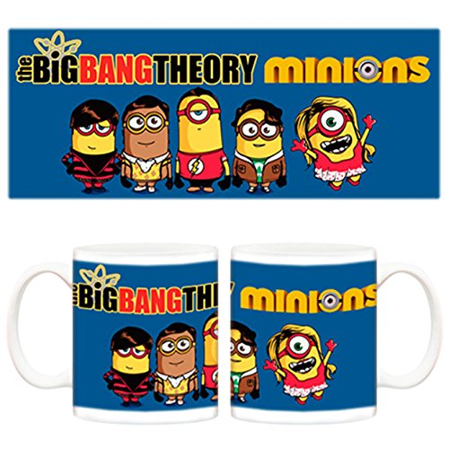 Taza Minions The Big Bang Theory Sheldon Penny Leonard Rajesh y Howard