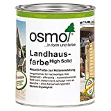 OSMO Landhausfarbe High Solid 750ml Dunkelbraun 2607