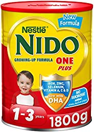 Nestle NIDO One Plus Growing Up Milk Powder Tin For Toddlers 1-3 Years, 1800g