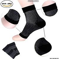 pedimendtm Kompression Fuß Ärmeln, 5pair–100) | Plantarfasziitis Socken mit Arch Unterstützung | ideal für Sportler... preisvergleich bei billige-tabletten.eu