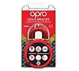 Opro Gold Braces Sports Mouthguard
