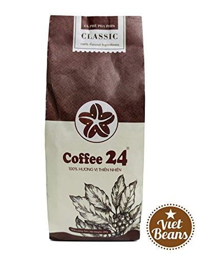 VietBeans Coffee24 CLASSIC – Hochwertige Kaffeebohnen aus Pleiku – Vietnamesischer Kaffee aus...