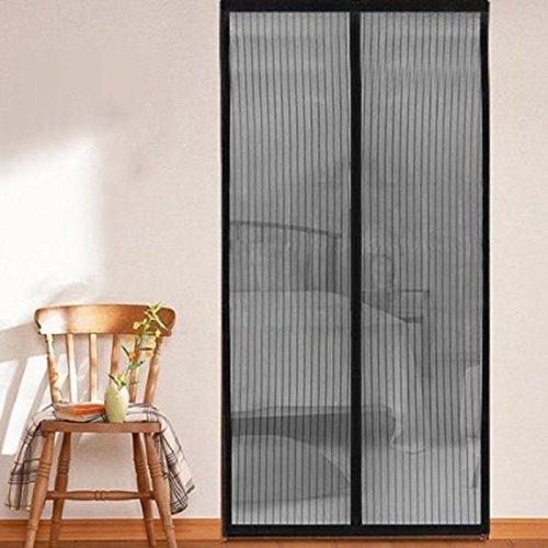 Kernorv magnetico fly zanzariera porta net auto chiudi schermo zanzariera tenda 90 x 210 cm, efficace repellente per zanzare fasce