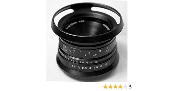 Hengyijia 25mm F1 8 Manual Focus Lens For Fujifilm Xf Camera Photo
