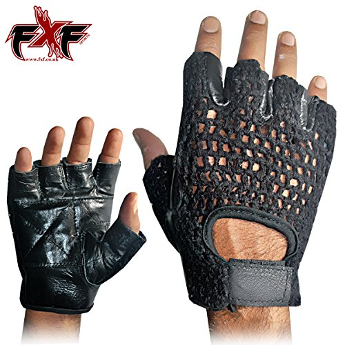 Mesh Leather Weight – Weight Lifting Gloves