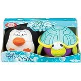 POOF-Slinky 262BL Ideal Penguin und Turtle Bath Splashers f-r Badewannen und Pools, 2-Pack