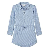 Tommy Hilfiger dress for girls in Sodalite Blue; Size:12months
