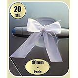 20 Antennenschleifen Autoschleifen Spiegelschleifen Hochzeit (0,65€ Stk)