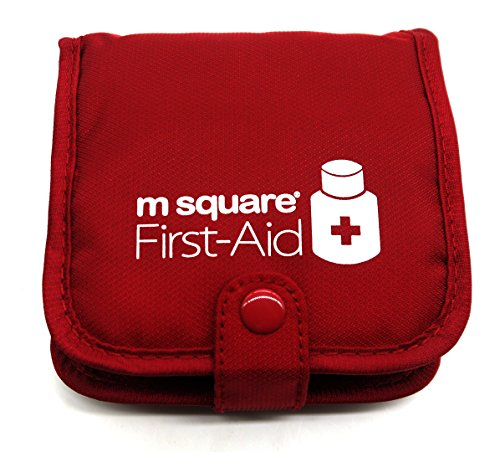 putwo-red-case-square-pill-box-organiser-storage-with-multi-pockets-bag-travel