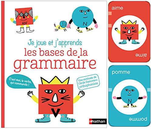 Les bases de la grammaire (avec jeu de cartes) (Je joue et j'apprends)
