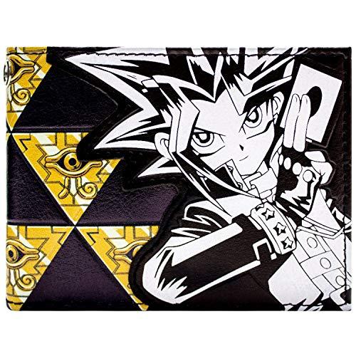Kazuki Yu-Gi-Oh Millennium Eye Schwarz Portemonnaie Geldbörse