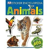 Sticker Encyclopedia: Animals: More Than 600 Stickers (DK Sticker Encyclopedias)