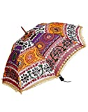 Famacart Cottom Umbrella Embroidered Umb...