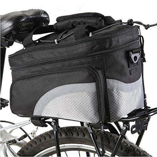 Gububi Bike Pannier Bag, tragbare Fahrradrahmen Hard Shell Aufbewahrungskoffer Cover Bike Rack Bag Triangle Frame Pouch für das Radfahren -