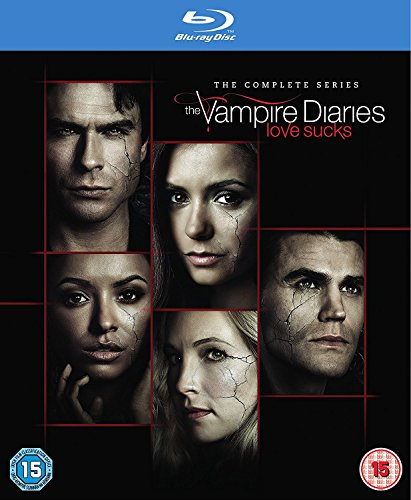 Vampire Diaries - Complete Season - Komplette Staffel 1-8 [Blu-ray] [UK-Import] (Vampire Box Diaries Set)
