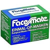 Unigloves Face Mate OP-Mundschutz ´3-lagig - mit genähten Bändern - latexfrei - glasfaserfrei - Schutzmasken -... preisvergleich bei billige-tabletten.eu