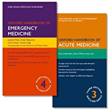 PACK OF OXFORD HANDBOOK OF EMERGENCY MEDICINE AND OXFORD HANDBOOK OF ACUTE MEDICINE (Oxford Handbooks) by Jonathan Wyatt (2016-05-03)