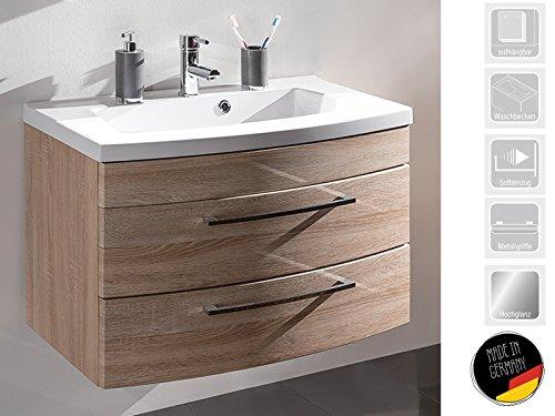 Waschplatz Waschtisch Badezimmerschrank Waschbecken Unterschrank Bad