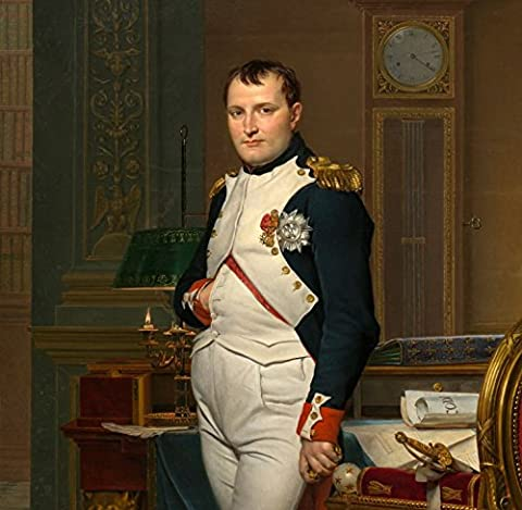 Jigsaw Puzzle 1500 pieces - Jacques-Louis David: The Emperor Napoleon in his study at the Tuileries, 1812