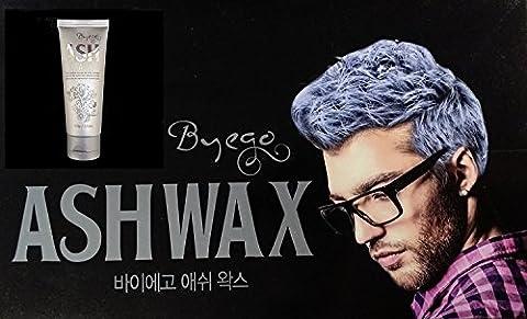 Byego Silver Ash Hair Wax 100g - Argent temporaire Cheveux gris pour hommes Femmes - Couleur facile Cheveux gris sans dommage