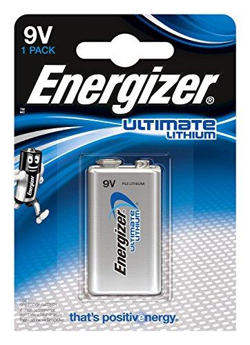 Energizer Lithium 9v (Energizer Batterie E-Block Lithium (9Volt/1er-Packung))