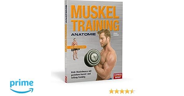 Muskeltraining Anatomie - Mehr Muskelmasse mit gezieltem Hantel- und ...