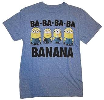 Despicable Me 2 Minion Banana Blue Graphic T-Shirt - 2XL