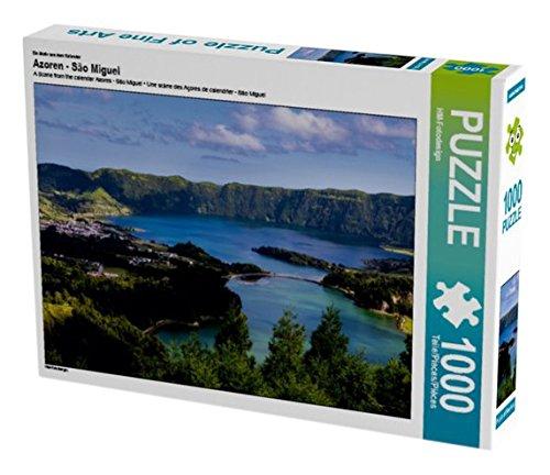 Preisvergleich Produktbild Ein Motiv aus dem Kalender Azoren - São Miguel 1000 Teile Puzzle quer (CALVENDO Orte)