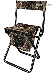 Silla para caza y pesca silla con funda Camo