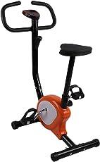 Hongyans Fitness Bike, Fit Bike Ultra-leise Sport Übung Radfahren Indoor-Zyklus Erwachsene Fitness-Bike mit LED-Anzeige Universal Home Exercise Equipment(schwarz)