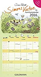 Simons Katze Familienkalender 2016